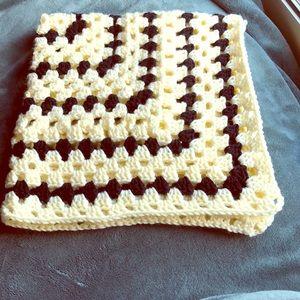 Bumblebee Baby Blanket Handmade Crochet Blanket